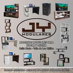 Mesa Base para TV mueble Modular con librero, Listas de entregar, 2 tamaños, centro entretenimiento televisión
