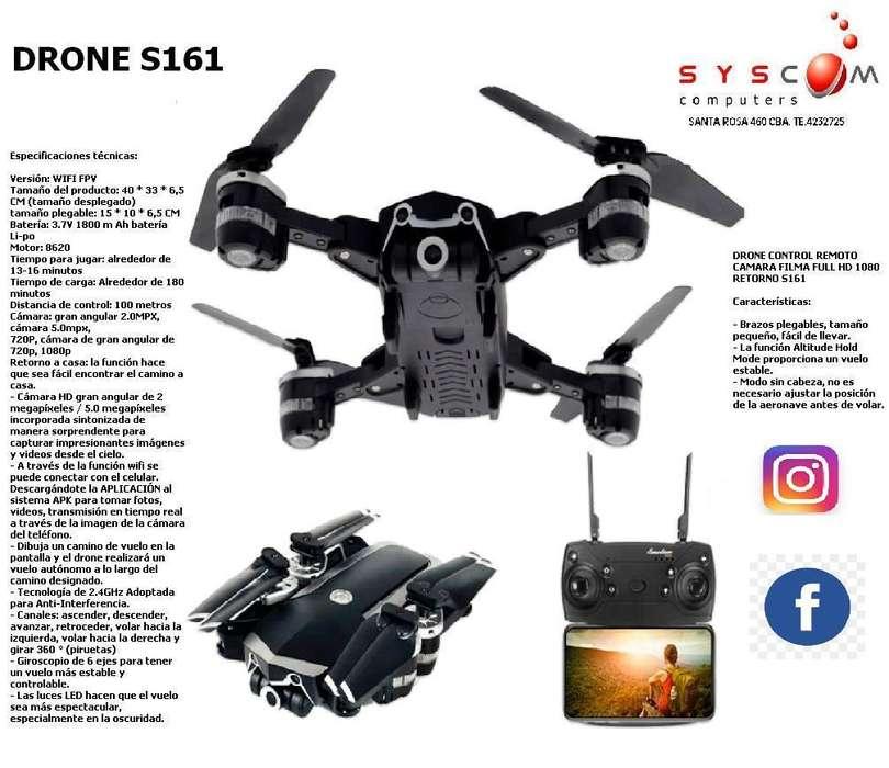 EL MEJOR DRONE DEL MERCADO S161 CON CAMARA FULL HD 1080P . Y MOVIMIENTO