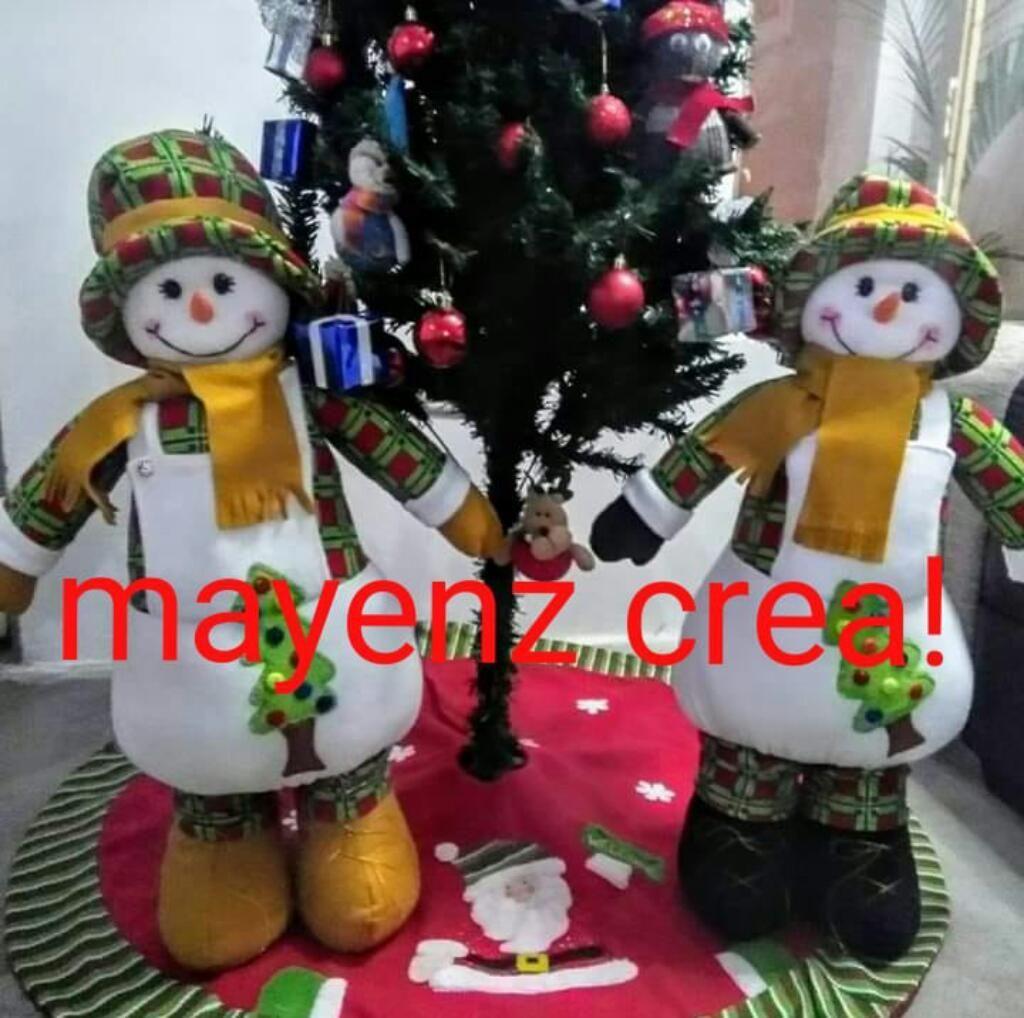 Muñecos Navideños - Muñecon Nieve