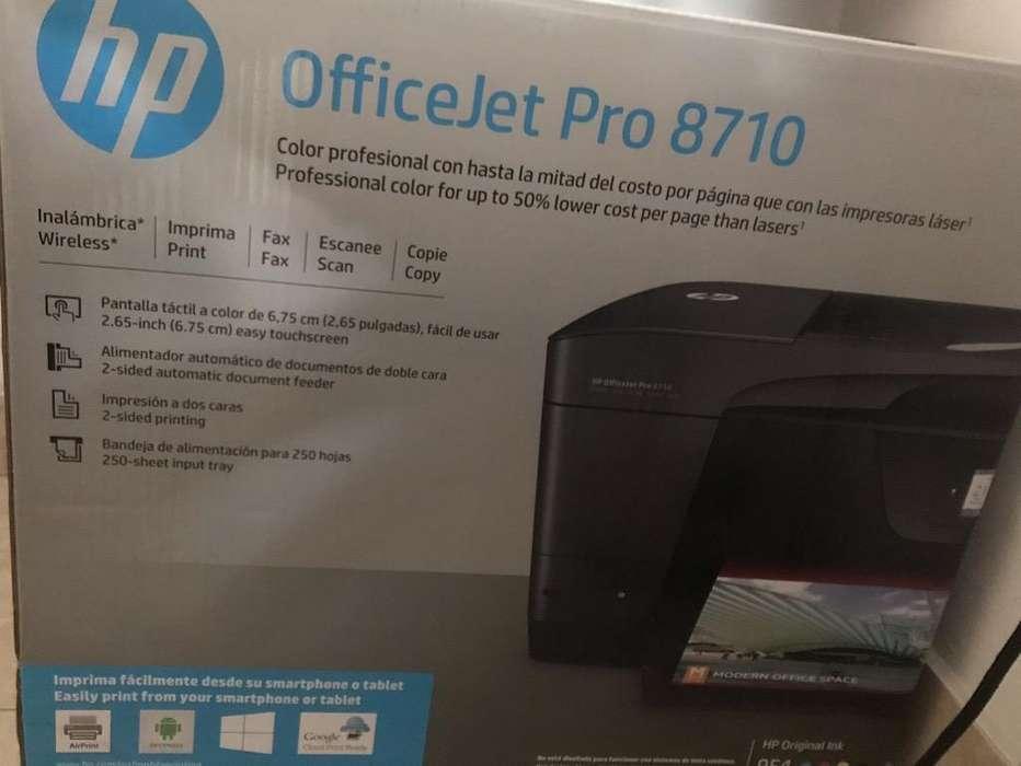 Impresora Inhalámbrica Hp Pro8710