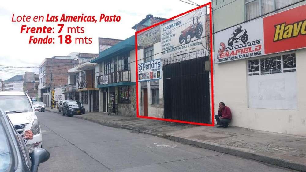 Vendo Lote Y Local Las Americas