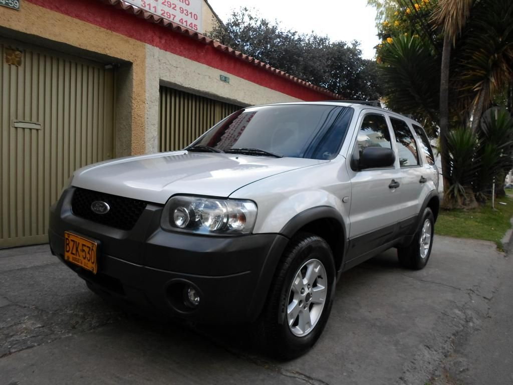 Ford Escape Xlt 2007 4x4 Automatica