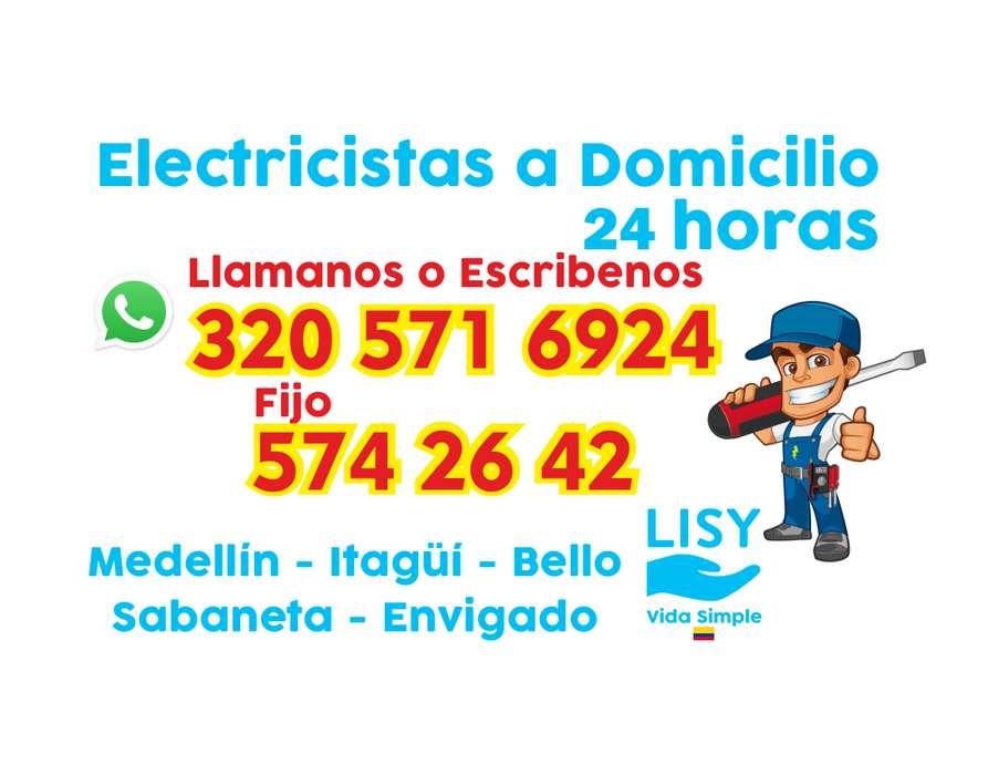 Electricistas a Domicilio Área Metropolitana