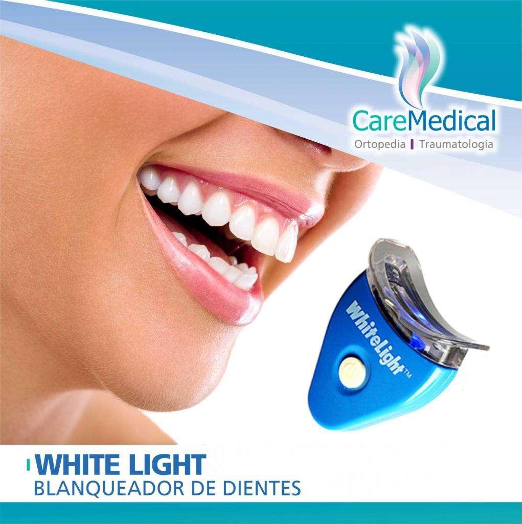 Blanqueador de Dientes  WHITE LIGHT  Ortopedia Care Medical