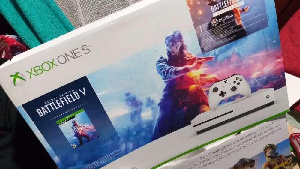 Vendo Consola Xbox One S en Perfecto Est