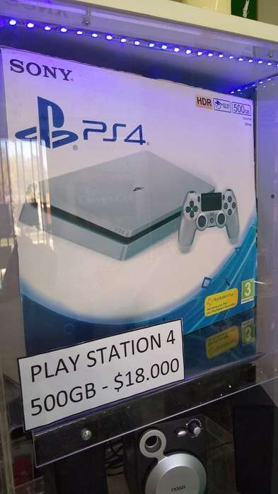 Play Station 4 500gb Nueva