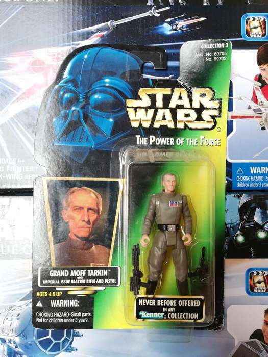 Star Wars The Power Of The Force - Grand Moff Tarkin - Figura Kenner