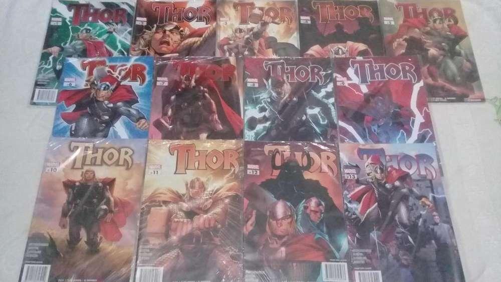 Cómics Marvel Colección El Universo Thor Iron Man Spiderman Xmen Wolverine Batman