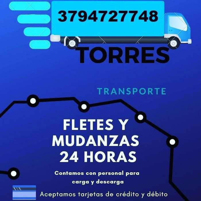 Torres Fletes Y Mudanzas Las 24hs