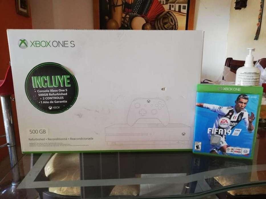 Vendó Xbox One S de 500gb