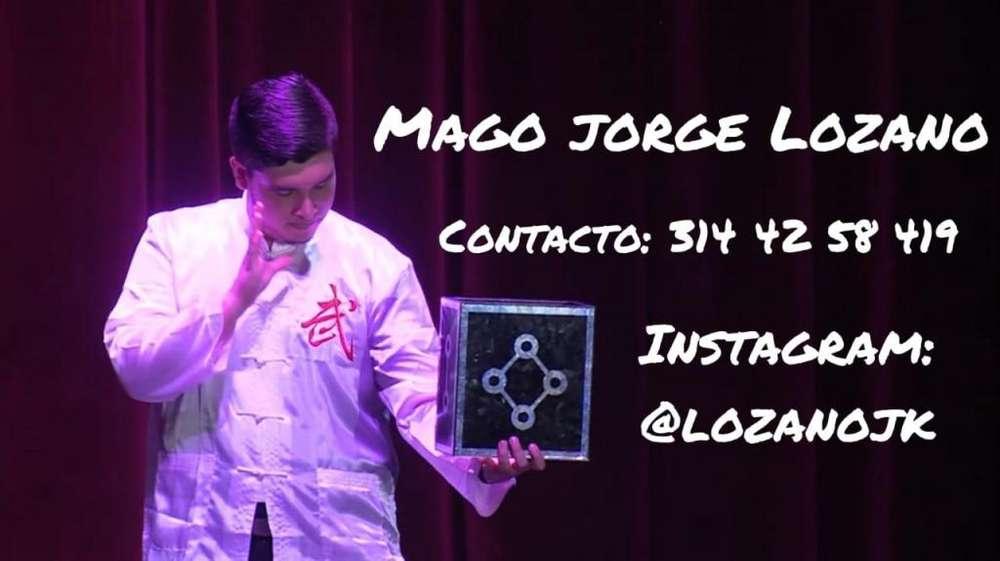 Show De Magia Profesional En Ibagué Mago Jorge Lozano Ilusionista