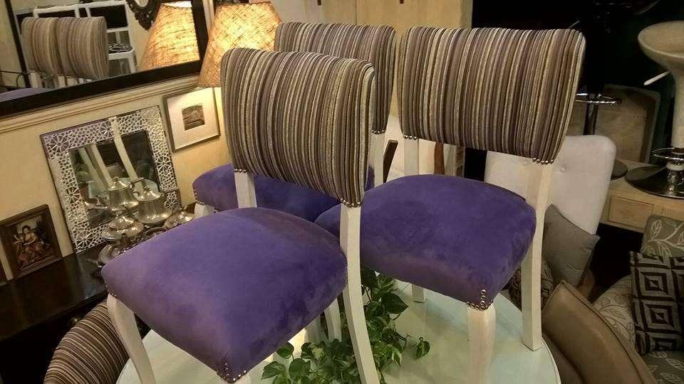 sillas restauradas desde 2500 pesos cada una