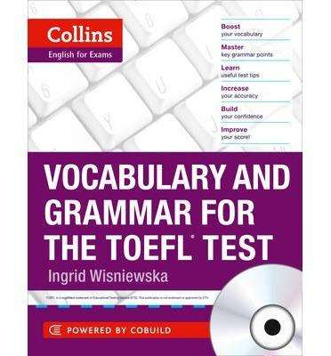 COLLINS: Vocabulary and Grammar for the TOEFL test (Book)
