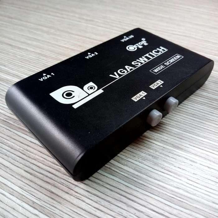 Vga Switch 2 a 1 Res. Hd 1920 X 1440