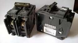 Breaker Bipolar 80 y 100 A Siemens Nuevo