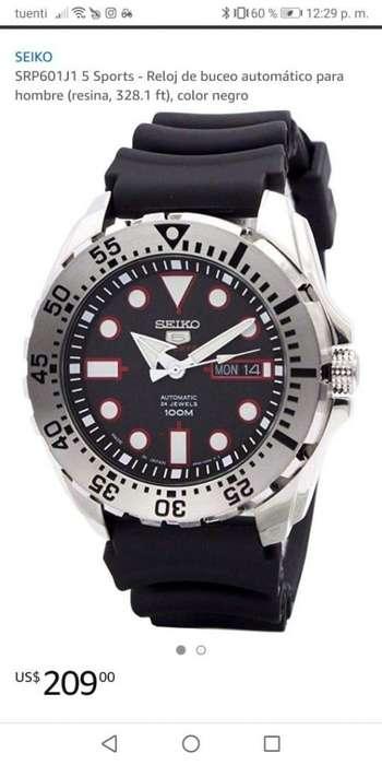Se vende reloj <strong>seiko</strong> en perfecto estado
