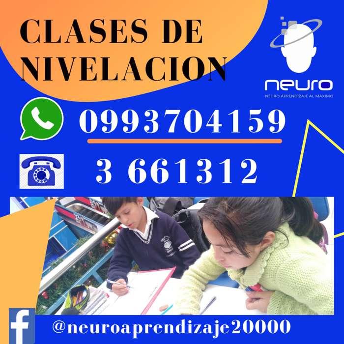 Clases de Nivelación Matematicas, Fisica y Quimica ...3661312..0981860504