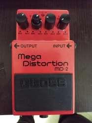 Pedal Boss Mega Distortion Md2