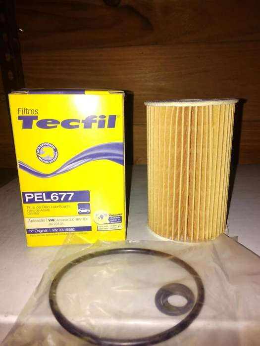 Filtro De Aceite Tecfil Pel677 mann Hu7008z P/ Amarok 2.0