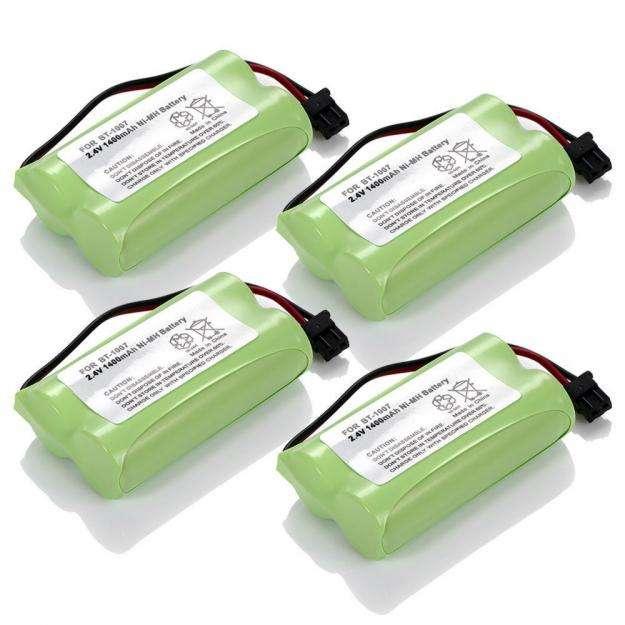 Baterias Teléfonos Panasonic Uniden Radio Shack Bt1007