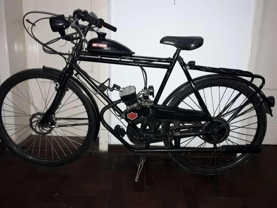 Bicicleta Inglesa con Motor 2t 48cc