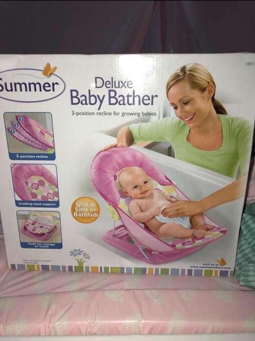Se Vende Bañera de Lujo Portatil Bebe