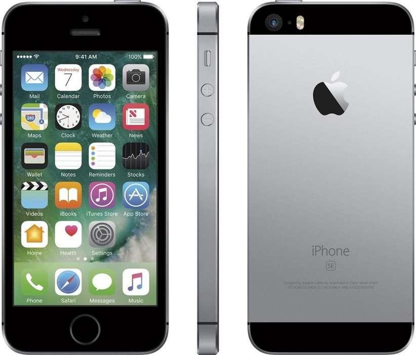iPhone Se 16gb Gris Usado Factura Y Gara
