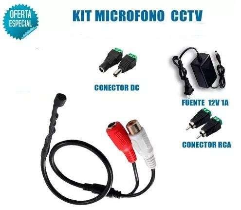 KIT MICROFONO CCTV