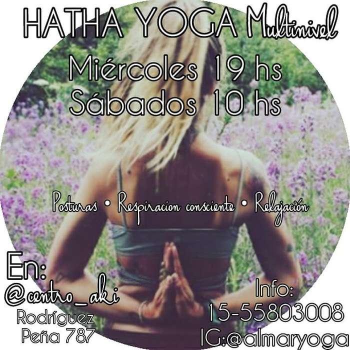 Clases de Hatha Yoga Grupales