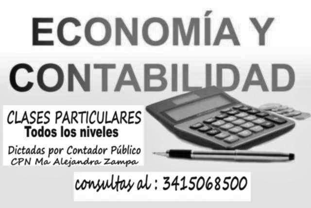 CLASES PART ROSARIO - MACROCENTRO CONTABILIDAD, ECONOMÍA dictadas por Contador Público