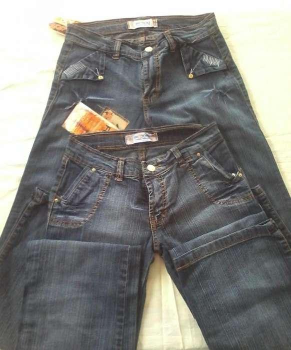 pantalones jean para dama marca FOXXI