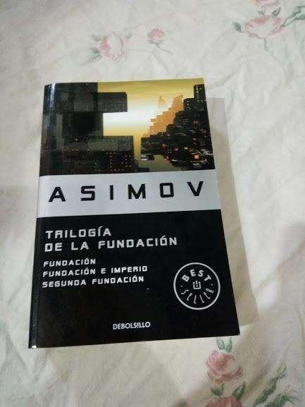 Asimov trilogia de la fundacion LIBRO