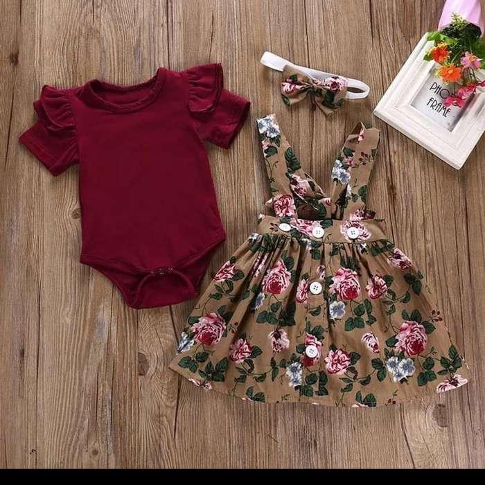 Vestido Braga para Niñas de Flores