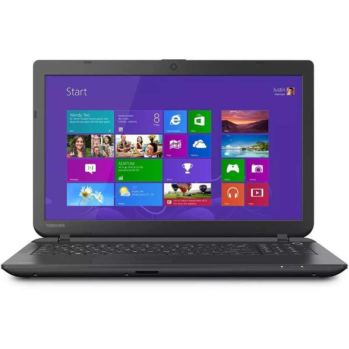 Laptop <strong>toshiba</strong> Satellite C55 i3 4 nucleos 8gb ram 500gb hdd 15.6