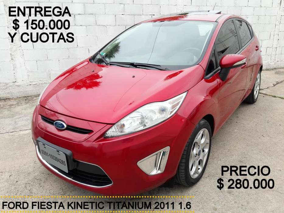 Ford Fiesta Kinetic 2011 - 143000 km