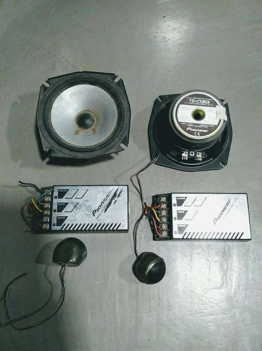 Pioneer Combo <strong>parlantes</strong> Tweeters Crossov