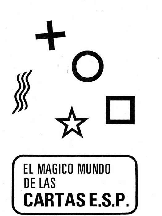 El mágico mundo de las cartas E.S.P.