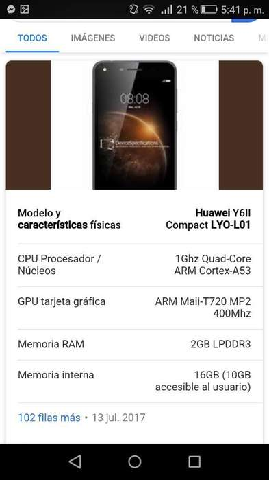 Huawei Y6 Ll Compact