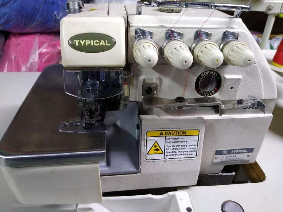 OVERLOCK TYPICAL 4 HILOS IMPECABLE!!!Mod: GN794
