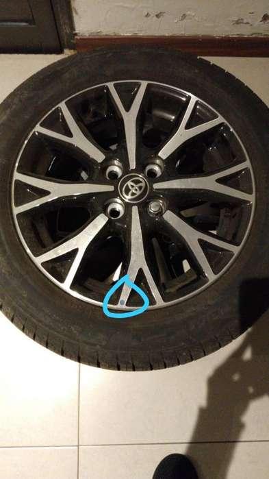 Jgo Cubiertas <strong>llanta</strong>s R15 Toyota Etios