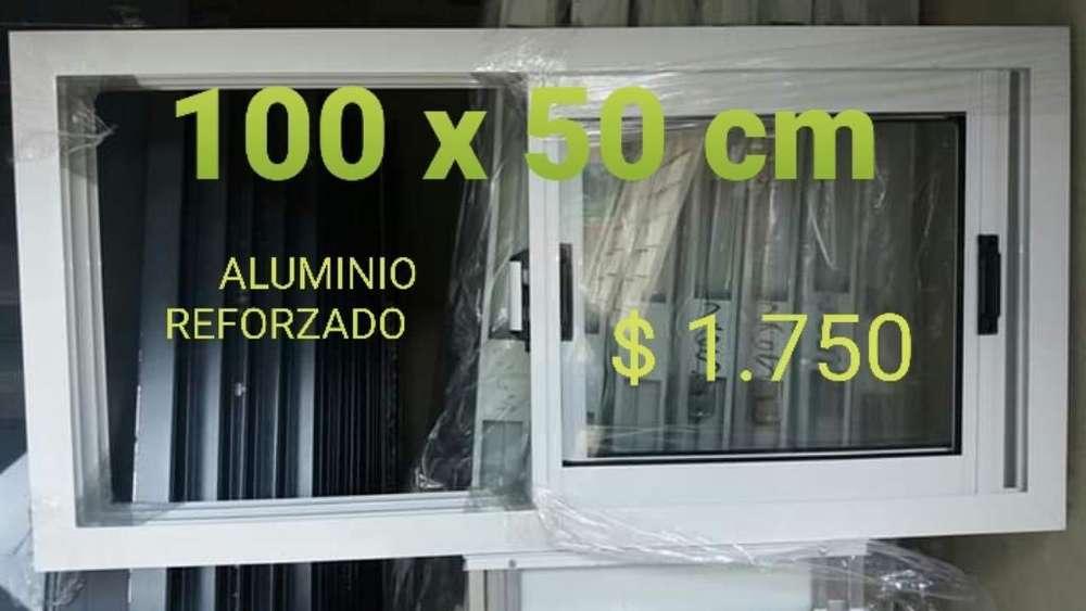 Ventana Alumino 100 X 50