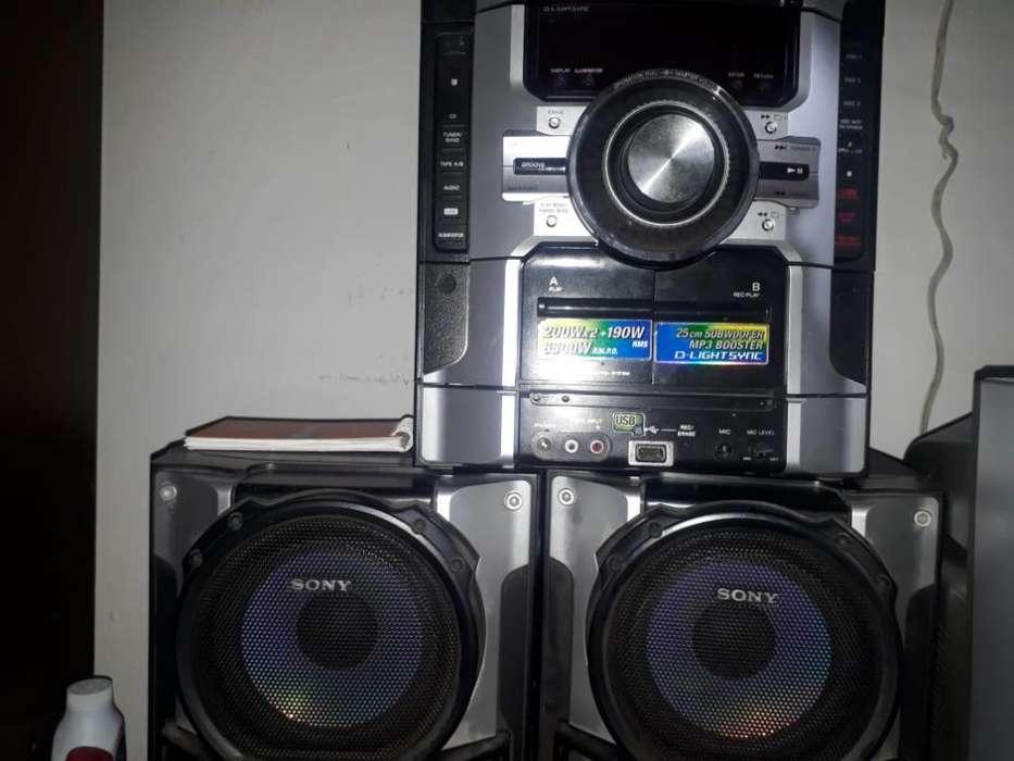 Se Vende Equipo de Sonido Sony Genezy