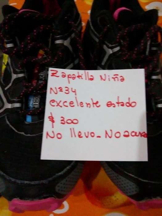 Vendo Zapatillas Niñas