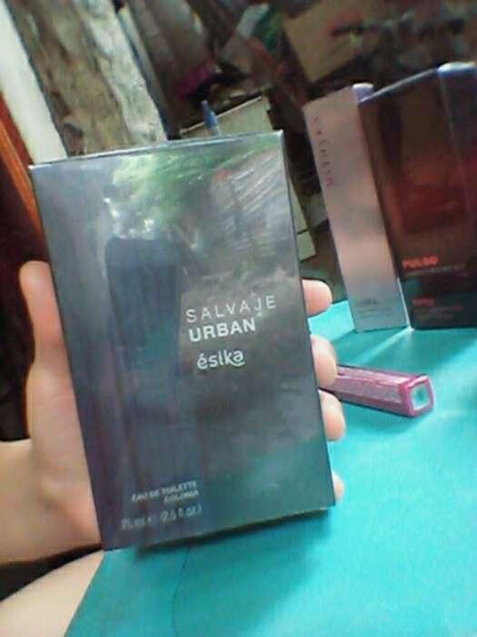 Promocion Perfume Esika Salvaje Urban