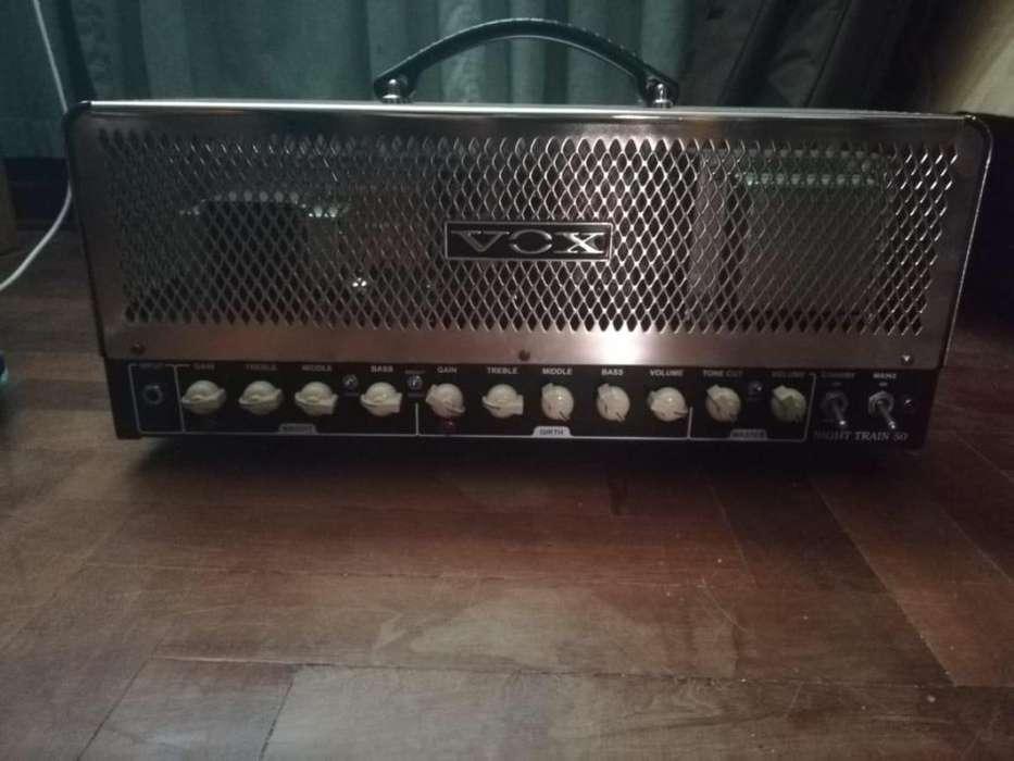 Amplificador Valvular Vox Night Train 50w Gabinete 2x12 Vox