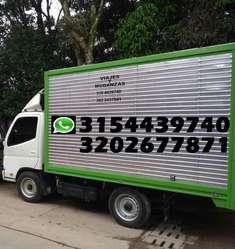 ACARREOS Y MUDANZAS  tel: 3154439740