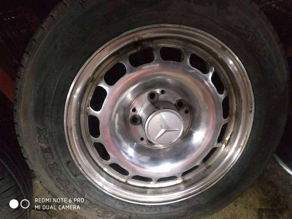 Aros 14x6 de Mercedes Benz Aleacion Vendo