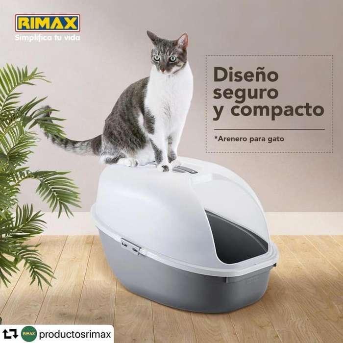 Arenero para <strong>gato</strong> Marca Rimax