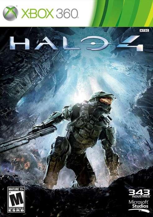 Halo 4 original usado