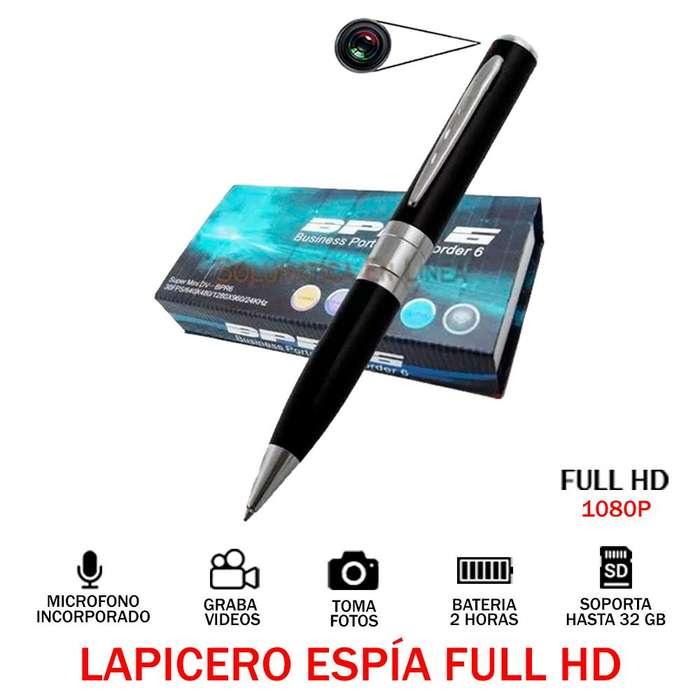 Camara Lapicero Espia 2h Full Hd 1080p 32 Gb